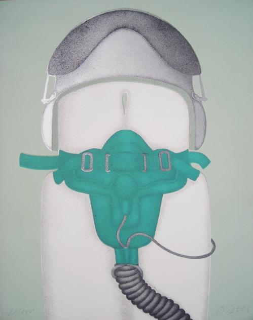 Hannsjörg Voth - Maske, Siebdruck, handsigniert kopen? Bied vanaf 75!