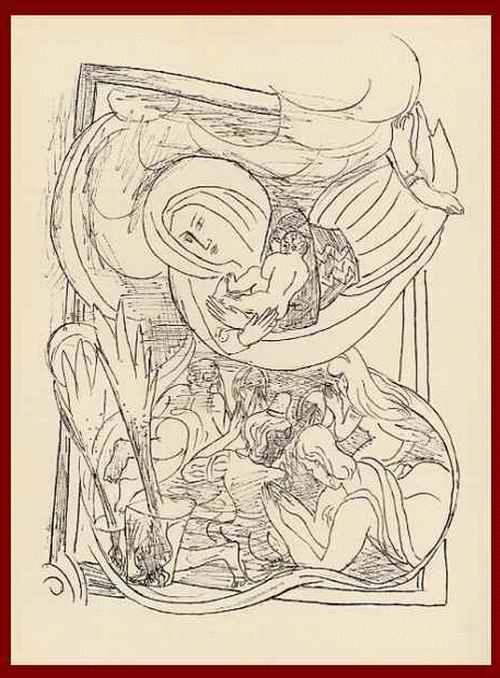 Max Beckmann - MATER GLORIOSA SCHWEBT EINHER - OriginalHolzstich - 1957 - mit dem Prägestempel der BlattNummer 34 kopen? Bied vanaf 54!