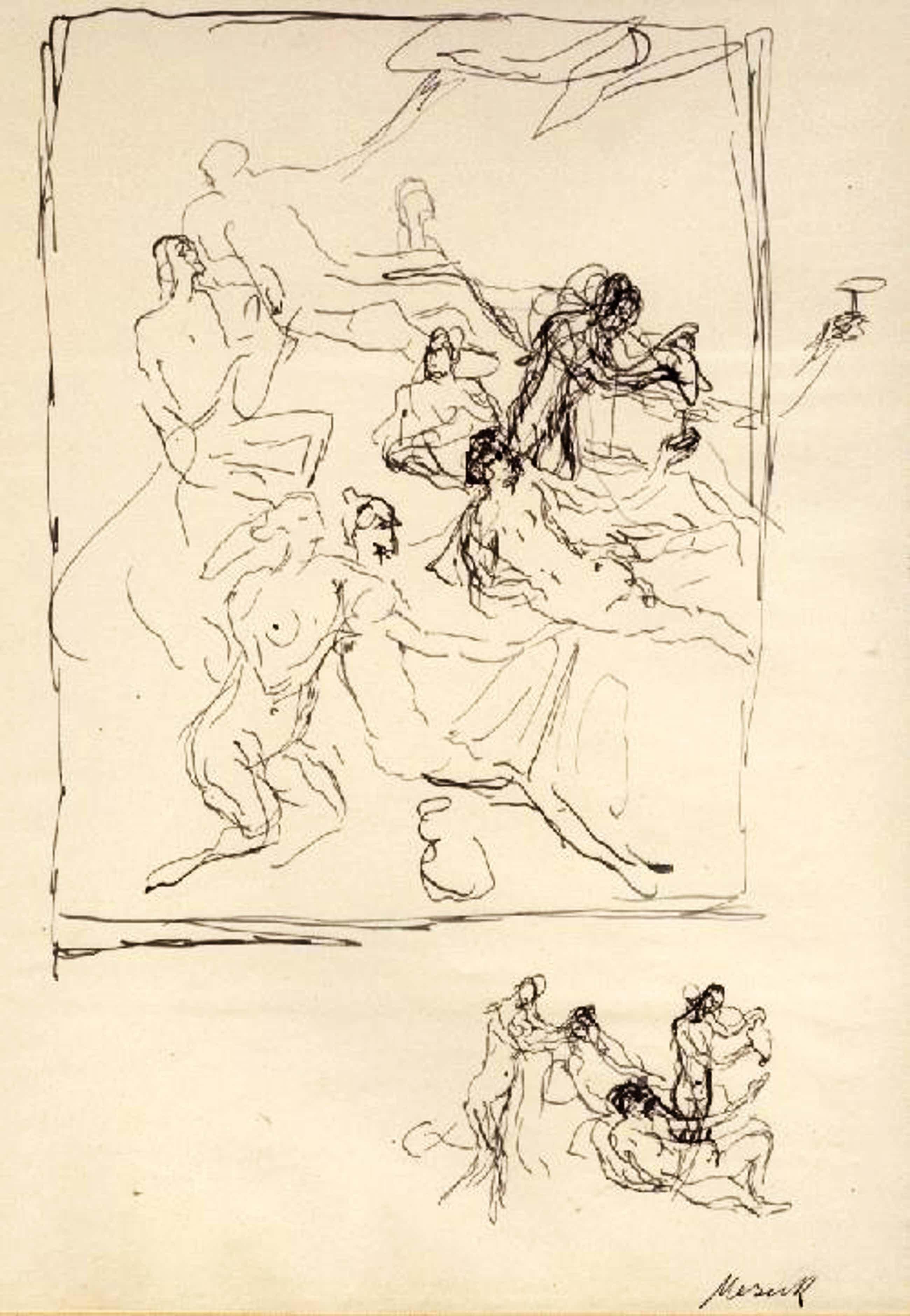 Felix Meseck - Meseck Goethe Prometheus plus Extrasuite und Zeichnung kopen? Bied vanaf 1550!