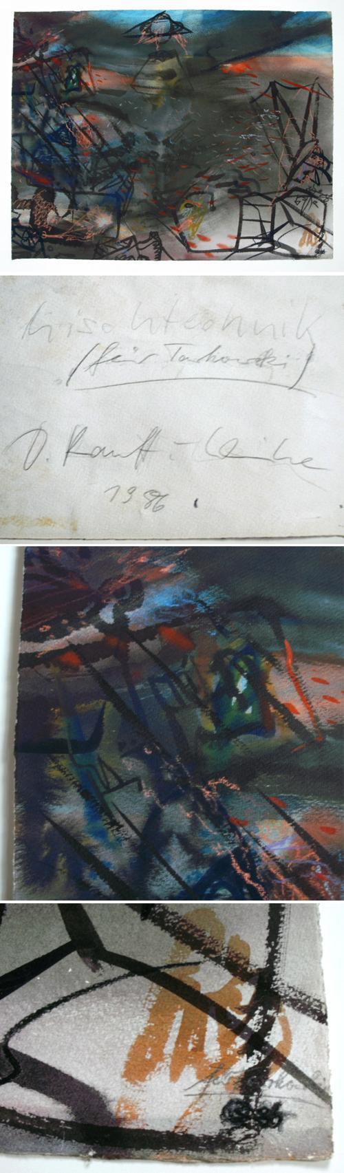 Dagmar Ranft-Schinke - Mischtechnik, 1986. kopen? Bied vanaf 400!