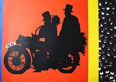 "Eduardo Arroyo - MM""-Zweitausend, 1987 ,handsigniert, nummeriert--RARITÄT__ kopen? Bied vanaf 290!"