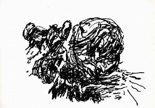 Holger Koch - MONDSUCHT - handsigniert & datiert 1989 - zu einem Gedicht von H.BRINKMANN Was uns zueinander treibt kopen? Bied vanaf 28!