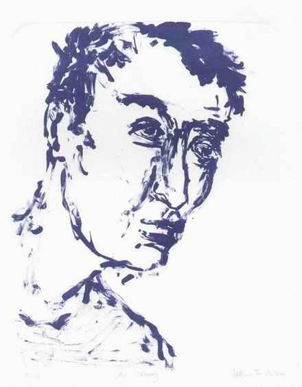 Bettina Francke - - Mr. WOODY - 2000 - handsignierte OriginalLithographie der Prof.Rolf KUHRT-Schülerin aus THÜRINGEN kopen? Bied vanaf 38!