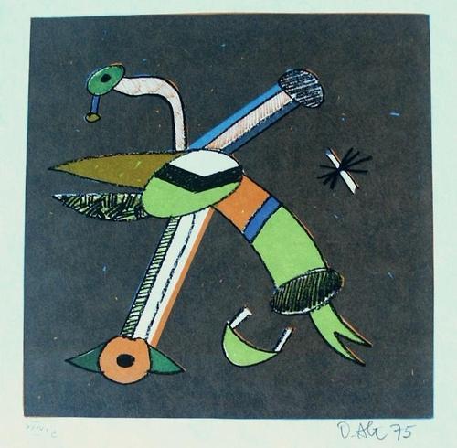 Otmar Alt - Nasenbär, Farblithografie, signiert, numm., 1975 kopen? Bied vanaf 100!