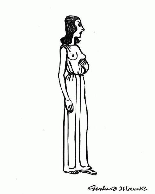 Gerhard Marcks - - NAUSIKAA - WEIBLICHER HALBAKT zu Griechischer Mythologie -OriginalHolzschnitt 1978 stempelsigniert kopen? Bied vanaf 52!