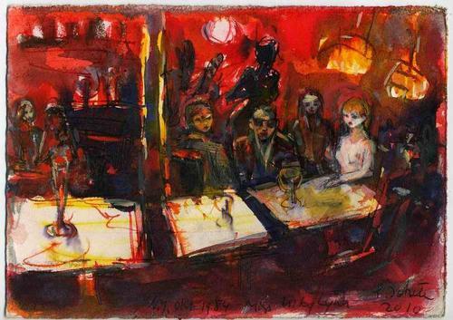 Peter Schunter - NEW YORK 1984 - Handsigniertes OriginalAquarell des Eduard BARGHEER-Schülers an der HfdK BERLIN kopen? Bied vanaf 129!