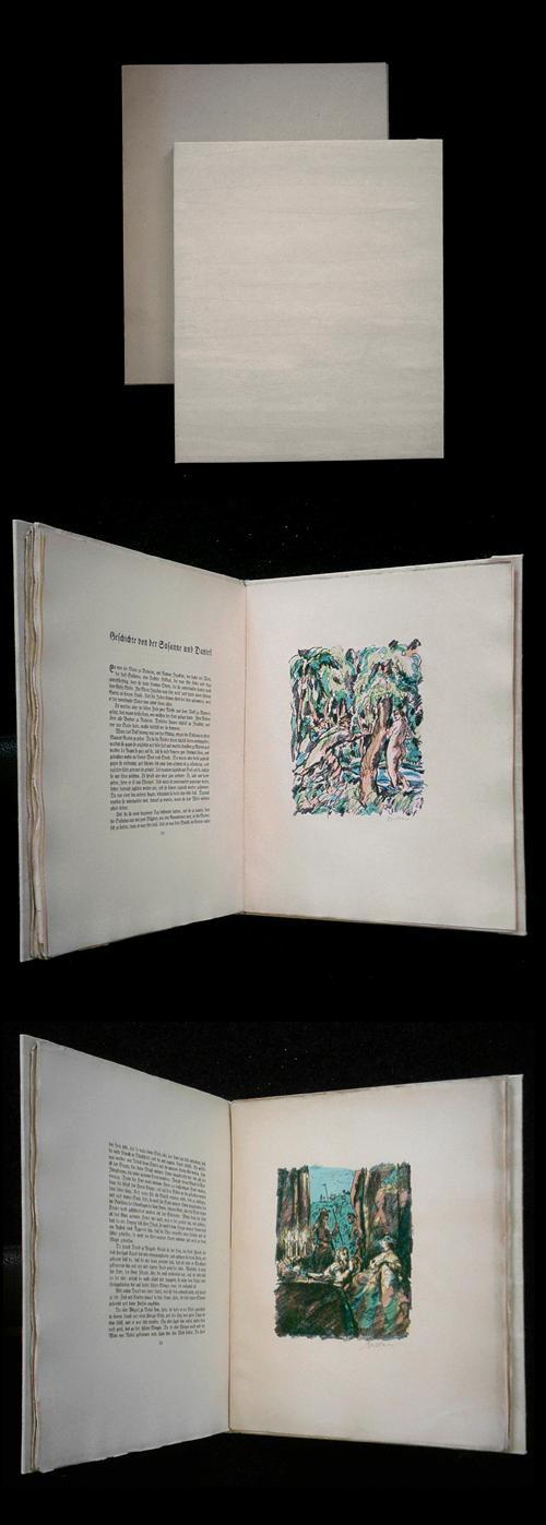 Erich Büttner - Novellen aus der Bibel. VA mit 14 signierten Lithographien. kopen? Bied vanaf 300!