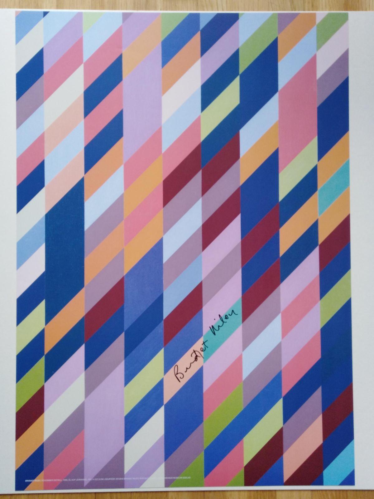Bridget Riley - November (Detail), 2009/1990, Offsetlithografie kopen? Bied vanaf 200!