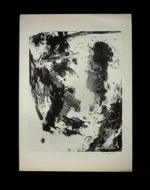Reinhard lange - O. T. (informelle Komposition), Lithographie, 1961. kopen? Bied vanaf 160!