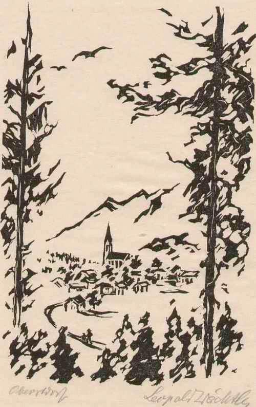 Leopold Wächtler - OBERSDORF - Handsignierter OriginalHolzschnitt des LEIPZIGer Künstlers aus PENIG - um 1930 kopen? Bied vanaf 36!