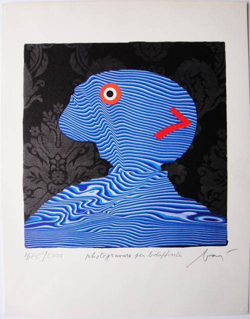 Enrico Baj - Offset Lithographie - Handsigniert kopen? Bied vanaf 150!
