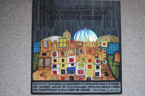 Fritz Hundertwasser - Offsetlitho kopen? Bied vanaf 150!