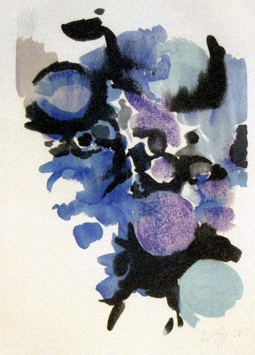 Ernst Wilhelm Nay - Ohne Titel, Farblithografie, 1963 kopen? Bied vanaf 160!