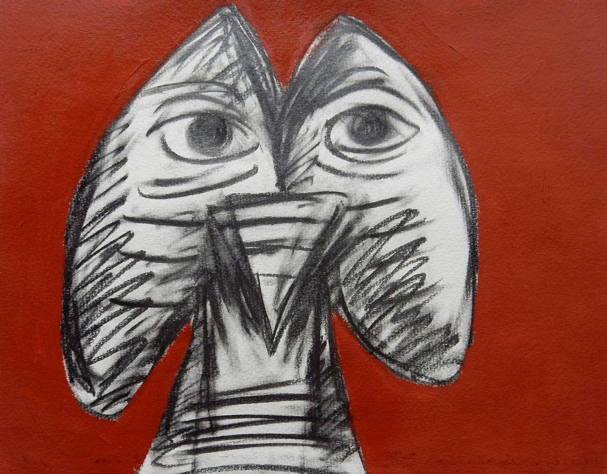 Jorge Castilla-Bambaren - Ohne Titel, Mischtechnik, 25x32,5 cm, Unikat, 2002 kopen? Bied vanaf 230!