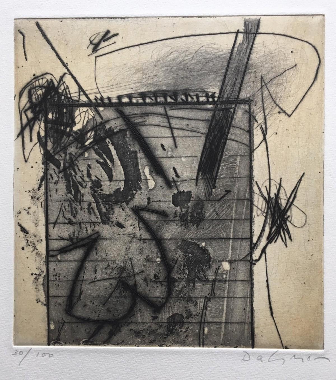 Karl Fred Dahmen - ohne Titel, Radierung,ca. 1970, handsigniert und nummeriert kopen? Bied vanaf 80!