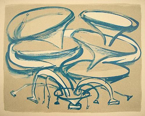 Claudia Shneider - Oiginal-Farblithographie von 2005, handsigniert , betitelt und datiert kopen? Bied vanaf 125!