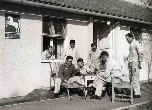 Dr. Albert Weinsheimer - OLYMPIA-LAZARETT in DÖBERITZ um 1940 - HANDABZUG des BERLINER Fotographen kopen? Bied vanaf 75!
