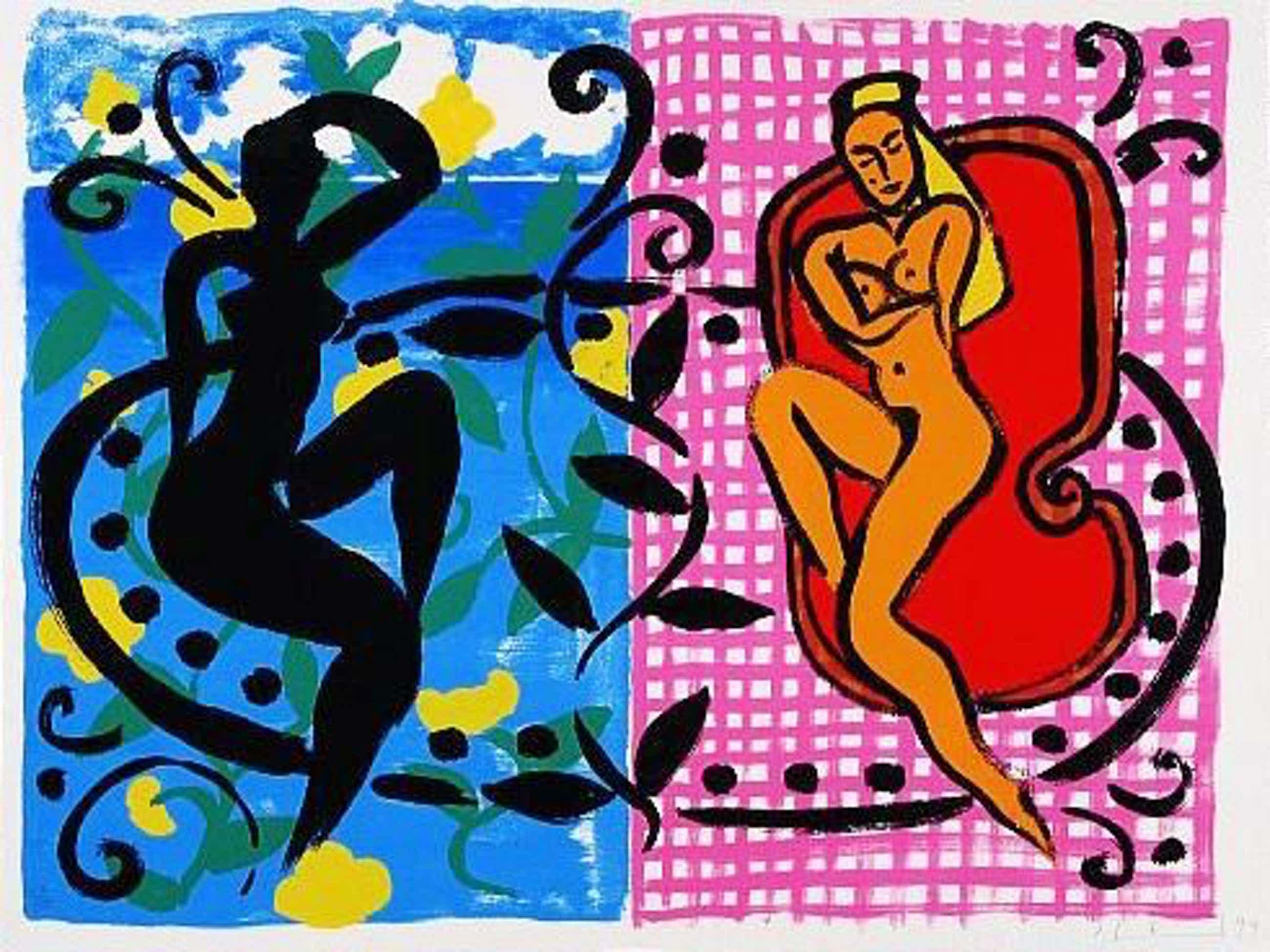 Stefan Szczesny - Orginal Farbserigraphie Caribbean Dancers 1999 kopen? Bied vanaf 340!