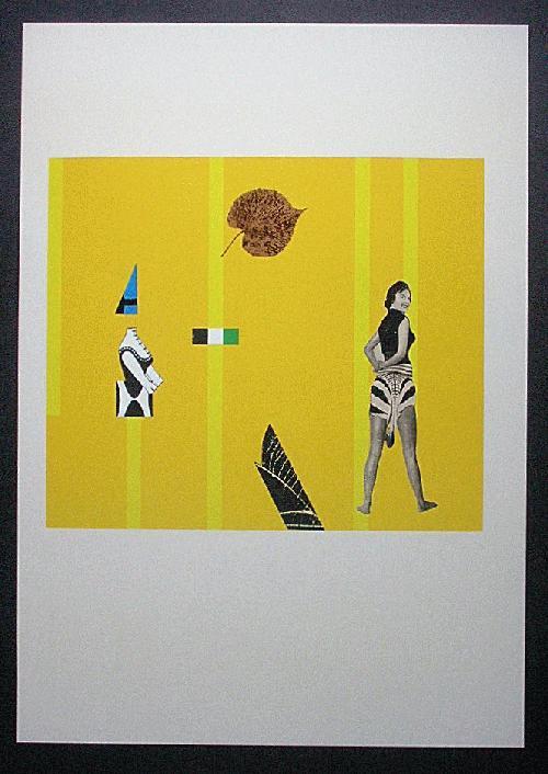 Paul Reissert - Orig. Farboffset 1976, Nachlass, Collage II kopen? Bied vanaf 45!