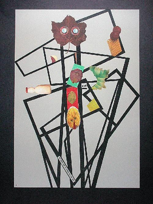 Paul Reissert - Orig. Farboffset 1976, Nachlass, Collage V kopen? Bied vanaf 45!