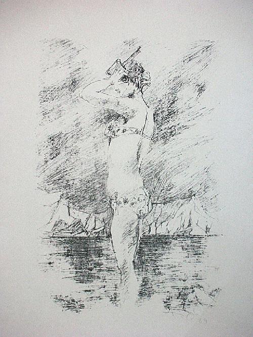 Ursula Querner - Orig. Lithographie 1969, signiert kopen? Bied vanaf 80!