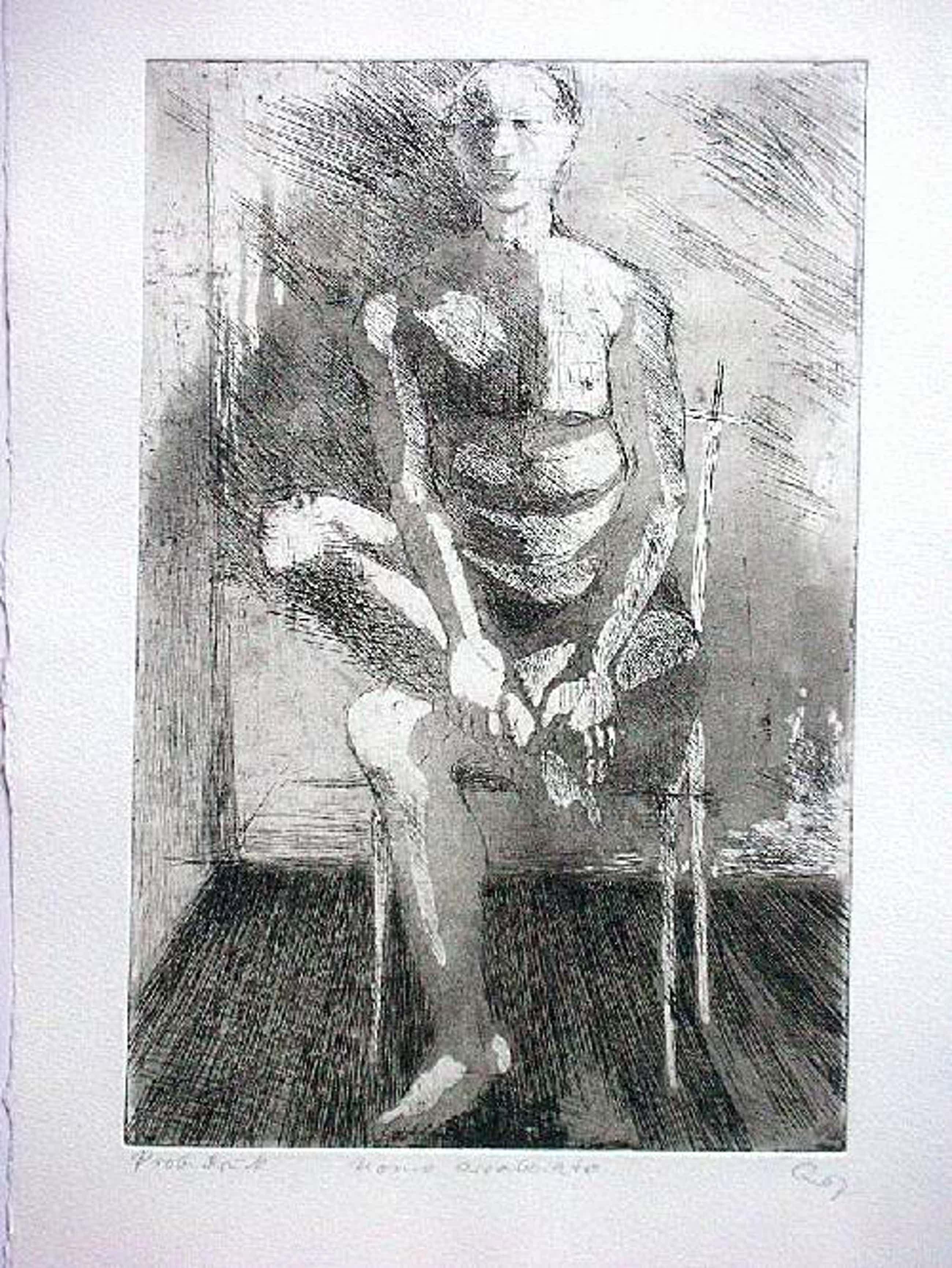 Ursula Querner - Orig. Radierung 1967, signiert & betitelt, Probedruck kopen? Bied vanaf 60!