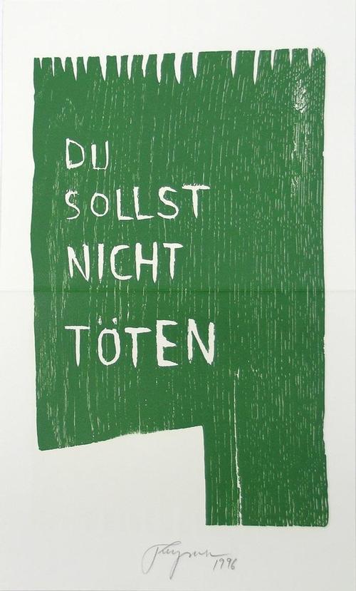 Felix Droese - Original-Farbholzdruck von 1996, mit Bleistift handsigniert und datiert kopen? Bied vanaf 50!