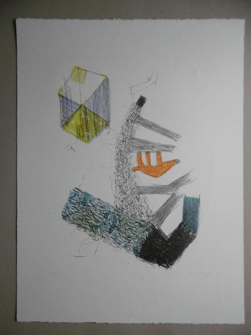 Tone  (Anton) Fink - Original-Farblithographie, signiert und nummeriert, Ex. 14/100 kopen? Bied vanaf 125!