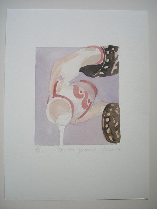 Thomas Huber - Original-Farblithographie von 2004, sign., nummeriert, datiert und betitelt, Auflage nur 40 Ex. kopen? Bied vanaf 140!