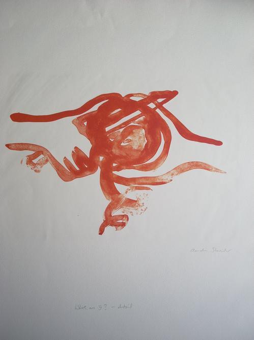 Claudia Shneider - Original-Farblithographie von 2005, handsigniert und betitelt kopen? Bied vanaf 95!