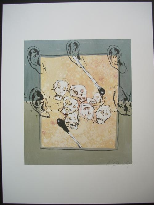Hans Peter Adamski - Original-Farboffsetdruck von 1990, handsigniert und datiert, Aufl. 100 Ex., aus der PPC-Mappe kopen? Bied vanaf 125!