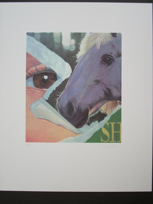 Fritz Köthe - Original-Farboffsetlithographie von 1980, handsigniert, nummeriert, Ex. 39/50 kopen? Bied vanaf 95!