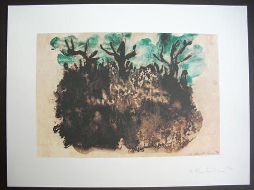 Axel Kasseböhmer - Original-Farboffsetlithographie von 1990, handsigniert und datiert, Aufl. 100 Ex. kopen? Bied vanaf 75!