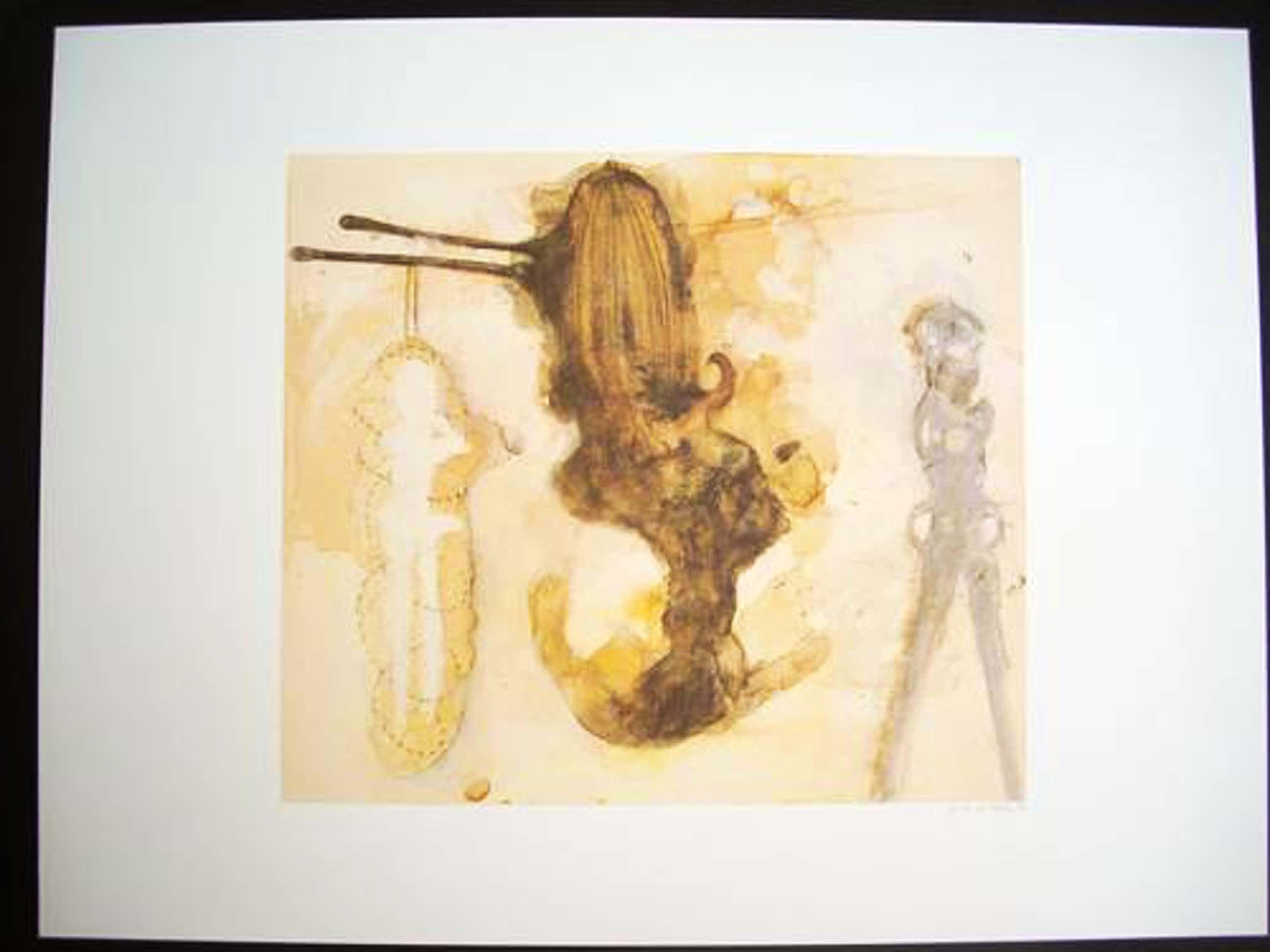 Gina Lee Felber - Original-Farboffsetlithographie von 1991, handsigniert und datiert, aus der PCC-Mappe, Aufl. 100 Ex kopen? Bied vanaf 95!