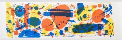 Thomas Grochowiak - Original-Farboffsetlithographie von 1994, signiert, datiert und nummeriert kopen? Bied vanaf 195!