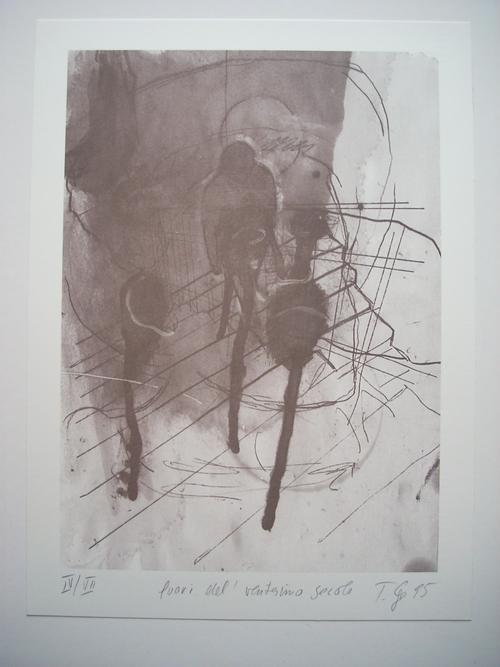 Thomas Lange - Original-Farboffsetlithographie von 1995, signiert und nummeriert, Ex. IV/VII kopen? Bied vanaf 69!
