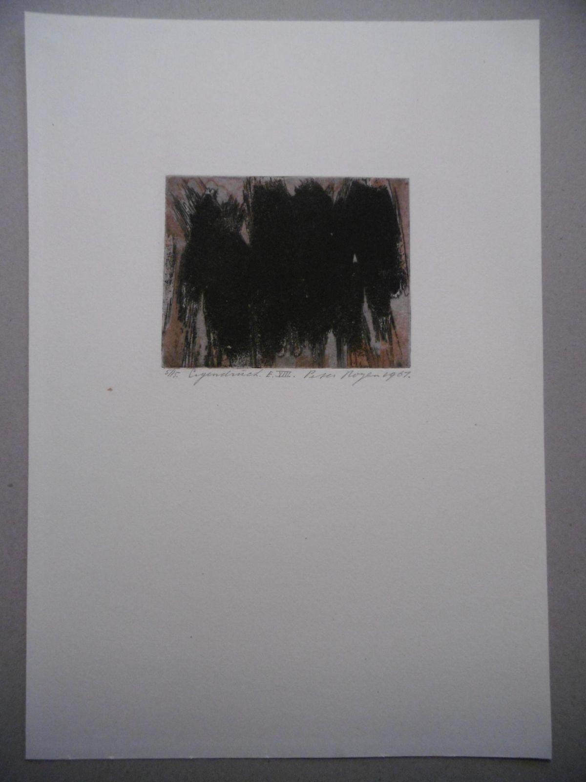 Peter Royen - Original-Farbradierung von 1961, signiert, datiert und nummeriert, Ex. 5/15, Eigendruck kopen? Bied vanaf 75!