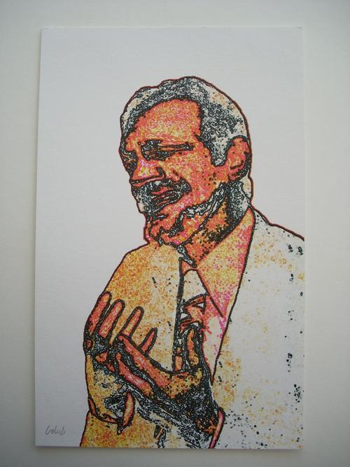 Leon Golub - Original-Farbsiebdruck von 1993/94, handsigniert kopen? Bied vanaf 195!