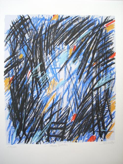 Robert Imhof - Original-Farbsiebdruck von 1995, handsigniert,datiert, betitelt und nummeriert kopen? Bied vanaf 50!