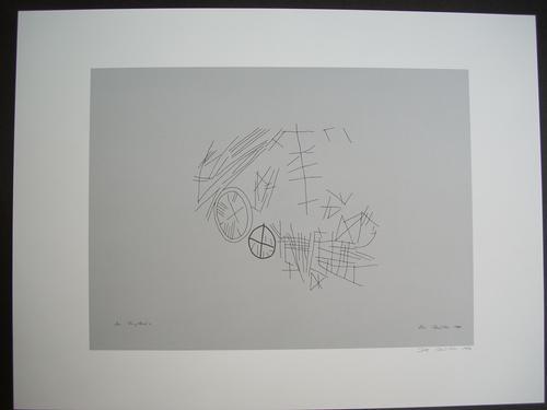 Rune Mields - Original-Grafik, Farboffsetdruck auf Bütten, signiert und datiert kopen? Bied vanaf 95!