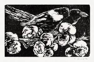 Claus Korsch - Original-Holzschnitt für die MEDIZINISCHEN BLÄTTER der SCHERING AG -1992 handsigniert kopen? Bied vanaf 25!