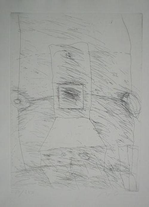 Karl Bohrmann - Original-Kaltnadelradierung von 1970, handsigniert und numeriert Ex-Nr. 217/250 - Kölner Kunstmarkt kopen? Bied vanaf 195!