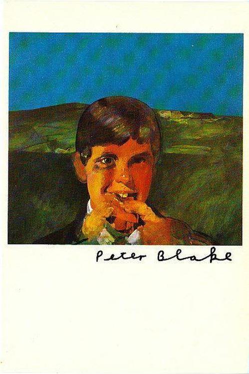 """Peter Blake - Original KPK / Multiple """" Boy eating a hot dog """" von PETER BLAKE kopen? Bied vanaf 65!"""