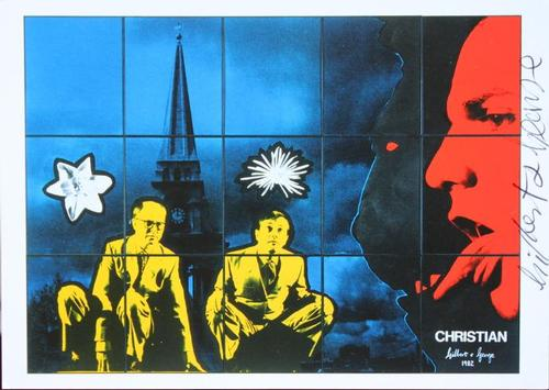"Gilbert & George - Original KPK / Multiple "" Christian"" von GILBERT & GEORGE kopen? Bied vanaf 40!"