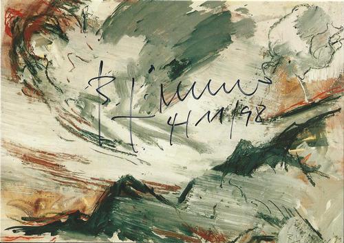 """Bernd Zimmer - Original KPK / Multiple """" Himmel Aufwind"""" von BERND ZIMMER Maße ca. 15 x 10,5 cm kopen? Bied vanaf 30!"""