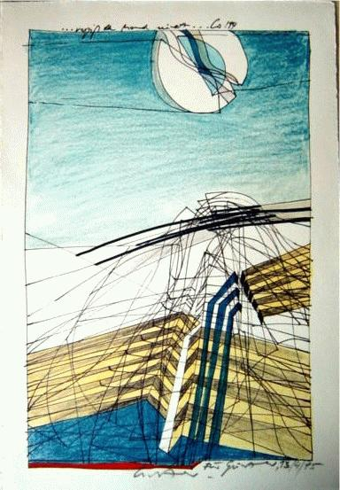 Diether Domes - Original-Lichtdruck / Handabzug, ...vergiß den Mond nicht, signiert und dat. 13.4.95 kopen? Bied vanaf 75!