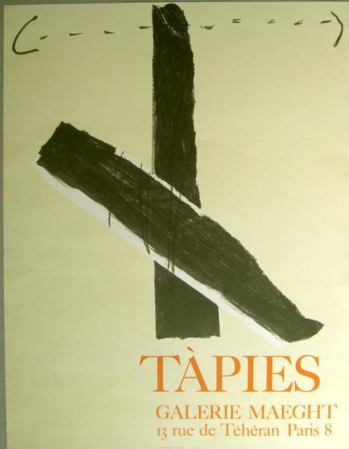 Antoni Tapies - Original-Lithographie kopen? Bied vanaf 48!