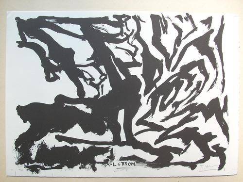 Troels Wörsel - Original-Lithographie von 1981, handsigniert und nummeriert, Ex. 10/24 kopen? Bied vanaf 125!