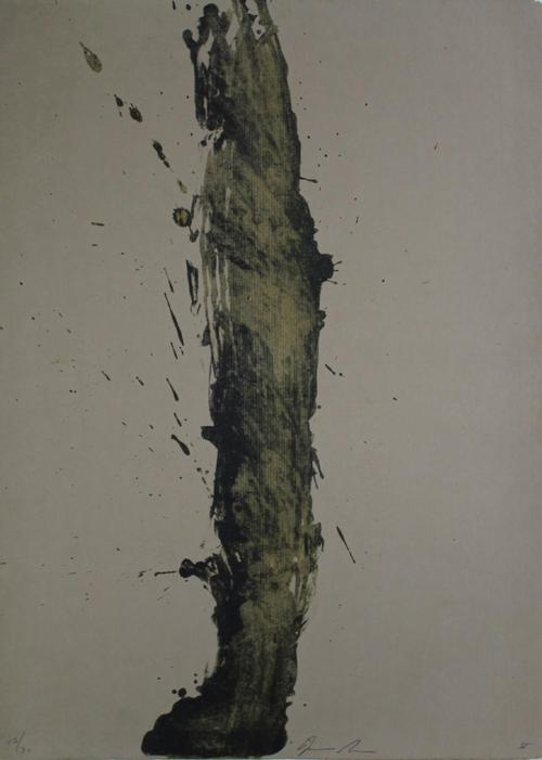 James Brown - Original-Lithographie von 1990, sign., numm., datiert, kleine Aufl. Ex. 17/30 kopen? Bied vanaf 395!