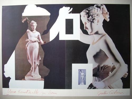 Giulio Paolini - Original-Plakat von 1983, handsigniert und nummeriert, Ex. 80/100 kopen? Bied vanaf 95!